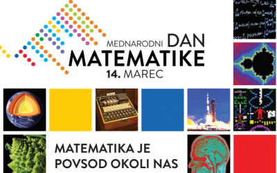 POŠ: Matematika je povsod okoli nas – REZULTATI krovnega natečaja DMFA Slovenije